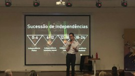 O mini curso Princípios do Montessori, ministrado por Gabriel Salomão.